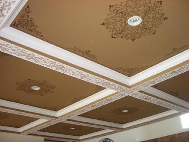 Stencilled Ceiling Photo